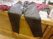 Verducci Ladies Black Leather Pants
